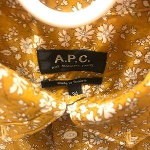 APC women's shirt in size 34